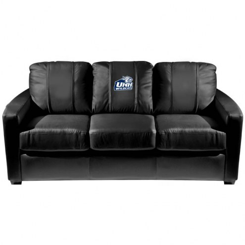 New Hampshire Wildcats XZipit Silver Sofa