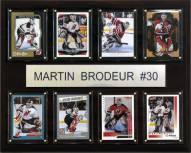 "New Jersey Devils 12"" x 15"" Martin Brodeur 8 Card Plaque"