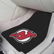New Jersey Devils 2-Piece Carpet Car Mats