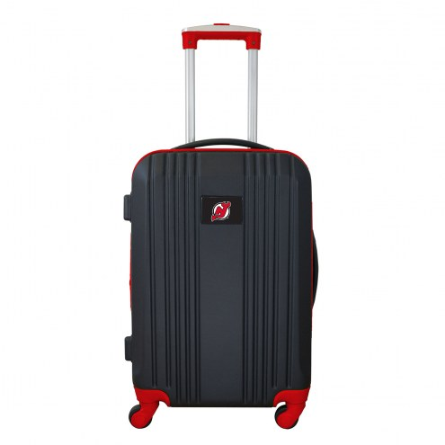 """New Jersey Devils 21"""" Hardcase Luggage Carry-on Spinner"""