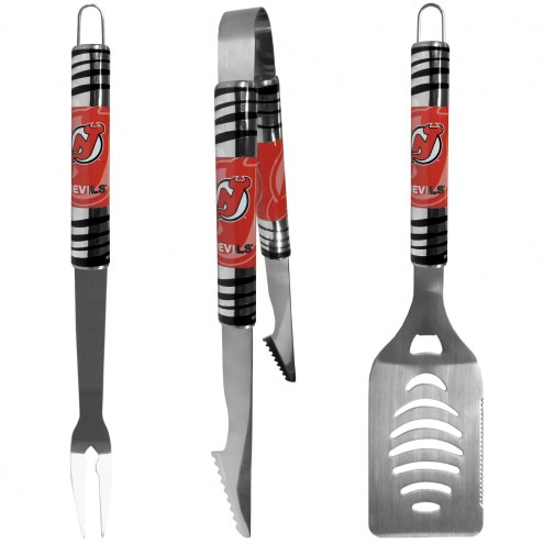 New Jersey Devils 3 Piece Tailgater BBQ Set