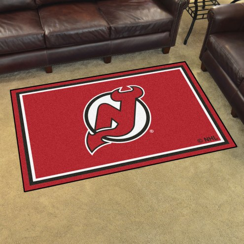New Jersey Devils 4' x 6' Area Rug