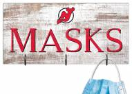 "New Jersey Devils 6"" x 12"" Mask Holder"