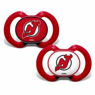 New Jersey Devils Baby Pacifier 2-Pack
