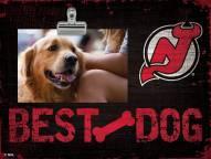 New Jersey Devils Best Dog Clip Frame