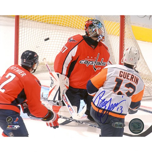 "New Jersey Devils Bill Guerin Goal vs Capitals Signed 16"" x 20"" Photo"