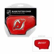 New Jersey Devils Blade Putter Headcover