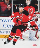 New Jersey Devils Bryce Salvador Signed 8 x 10 Photo with Stick