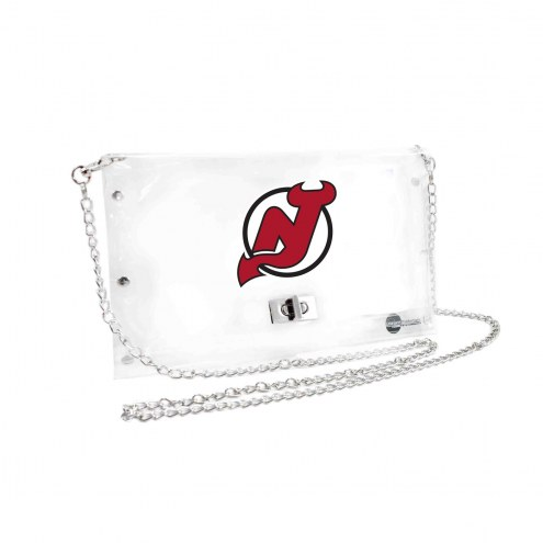 New Jersey Devils Clear Envelope Purse