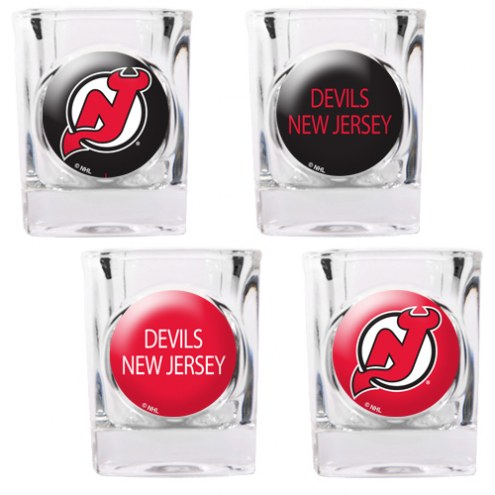 New Jersey Devils Collector's Shot Glass Set