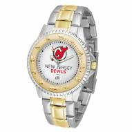 New Jersey Devils Competitor Two-Tone Men's Watch