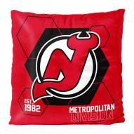 New Jersey Devils Connector Double Sided Velvet Pillow