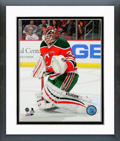 New Jersey Devils Cory Schneider Action Framed Photo
