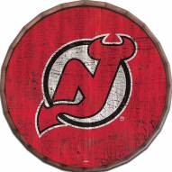 "New Jersey Devils Cracked Color 16"" Barrel Top"