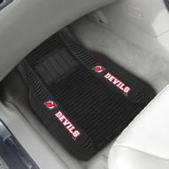 New Jersey Devils Deluxe Car Floor Mat Set