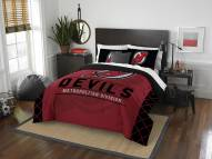 New Jersey Devils Draft Full/Queen Comforter Set