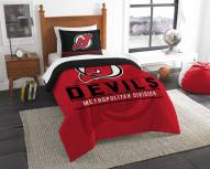 New Jersey Devils Draft Twin Comforter Set