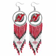 New Jersey Devils Dreamcatcher Earrings