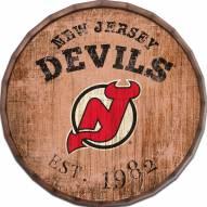 """New Jersey Devils Established Date 24"""" Barrel Top"""