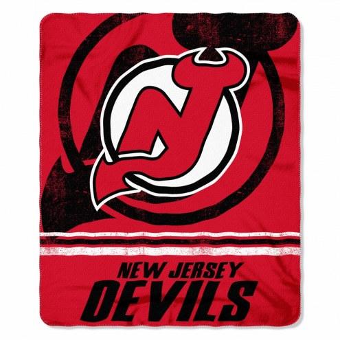 New Jersey Devils Fade Away Fleece Blanket