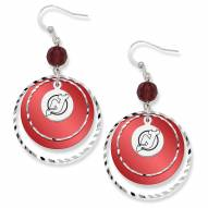New Jersey Devils Game Day Earrings