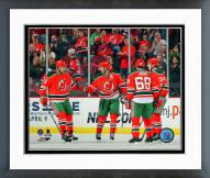 New Jersey Devils Goal Celebration Framed Photo