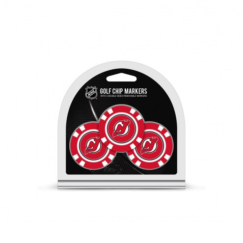 New Jersey Devils Golf Chip Ball Markers