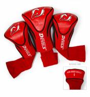 New Jersey Devils Golf Headcovers - 3 Pack