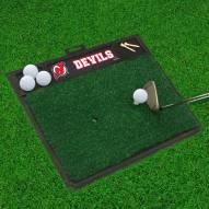 New Jersey Devils Golf Hitting Mat