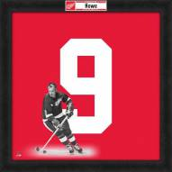 New Jersey Devils Gordie Howe Uniframe Framed Jersey Photo