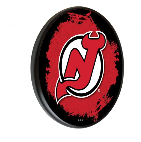 New Jersey Devils Digitally Printed Wood Sign
