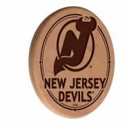 New Jersey Devils Laser Engraved Wood Sign