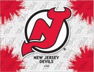 New Jersey Devils Logo Canvas Print