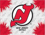 New Jersey Devils Logo Canvas Print