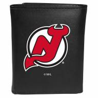 New Jersey Devils Large Logo Leather Tri-fold Wallet
