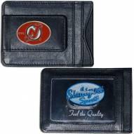 New Jersey Devils Leather Cash & Cardholder