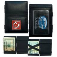 New Jersey Devils Leather Jacob's Ladder Wallet