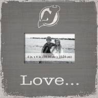 New Jersey Devils Love Picture Frame
