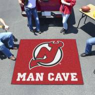 New Jersey Devils Man Cave Tailgate Mat