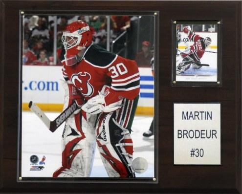 "New Jersey Devils Martin Brodeur 12"" x 15"" Player Plaque"