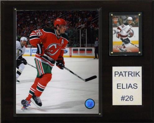 "New Jersey Devils Patrick Elias 12"" x 15"" Player Plaque"