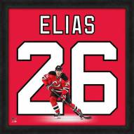 New Jersey Devils Patrik Elias Uniframe Framed Jersey Photo