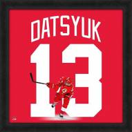 New Jersey Devils Pavel Datsyuk Uniframe Framed Jersey Photo