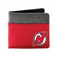 New Jersey Devils Pebble Bi-Fold Wallet