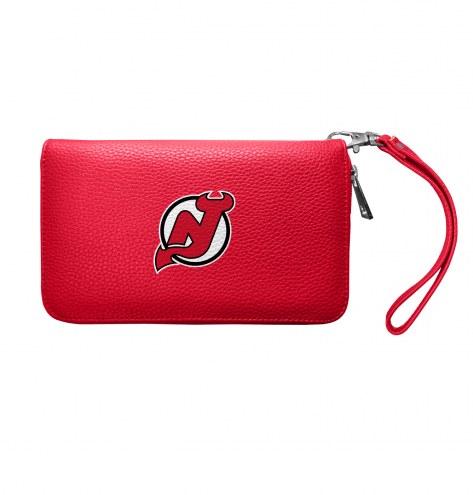 New Jersey Devils Pebble Organizer Wallet