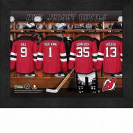 New Jersey Devils Personalized 11 x 14 Framed Photograph