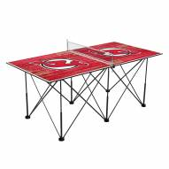 New Jersey Devils Pop Up 6' Ping Pong Table