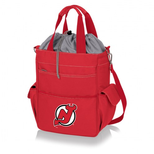 New Jersey Devils Red Activo Cooler Tote