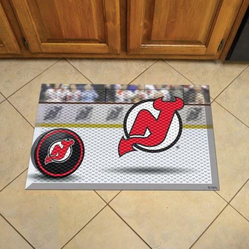 New Jersey Devils Scraper Door Mat
