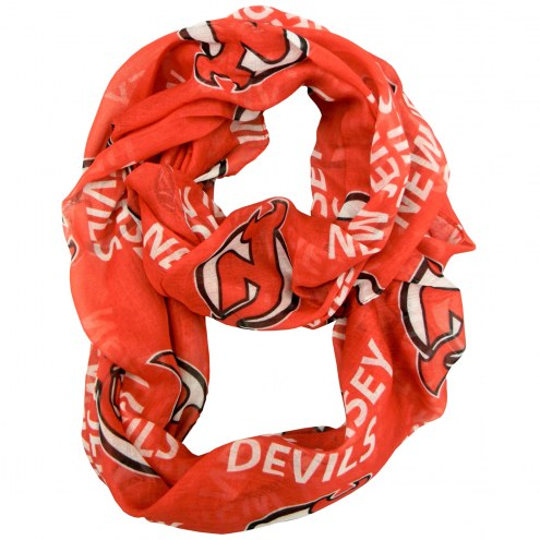 New Jersey Devils Sheer Infinity Scarf